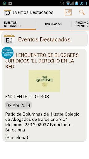 【免費教育App】Eventos Jurídicos-APP點子