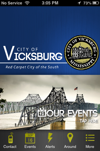 City of Vicksburg- screenshot