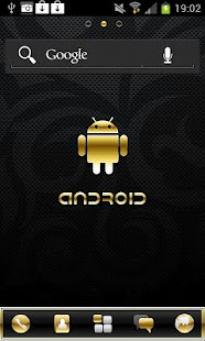 Gold Droid PRO GO Launcher EX - screenshot thumbnail