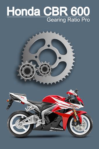 CBR 600 Gear Ratio Pro