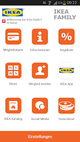 Screenshot of IKEA FAMILY Schweiz
