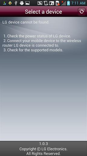 LG AV REMOTE 2.0.4 screenshots 2