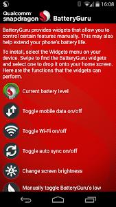 Snapdragon™ BatteryGuru v2.3.4