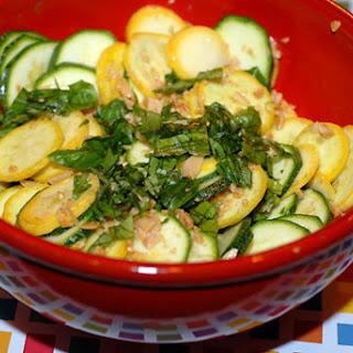 Summer Squash Salad.