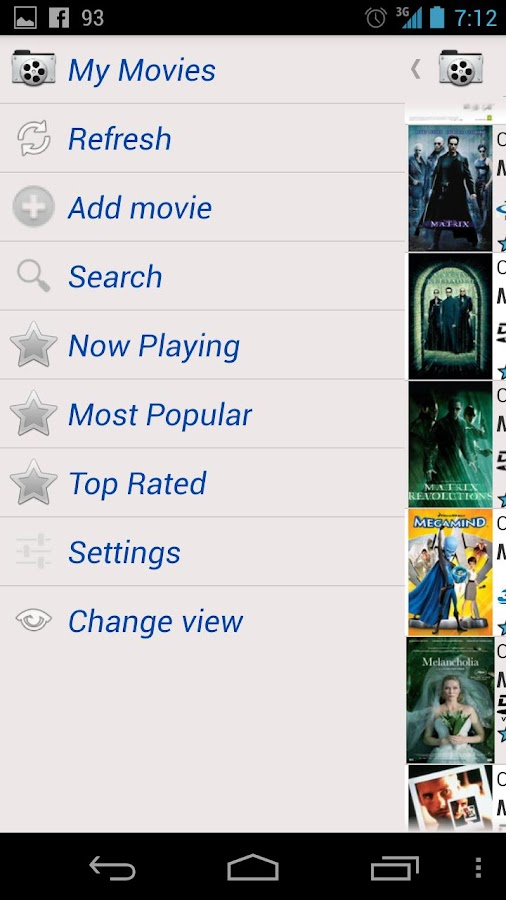 MoviesBook - screenshot