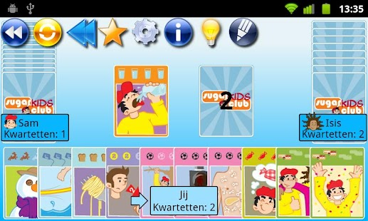 Go Fish! SugarKidsClub- screenshot thumbnail