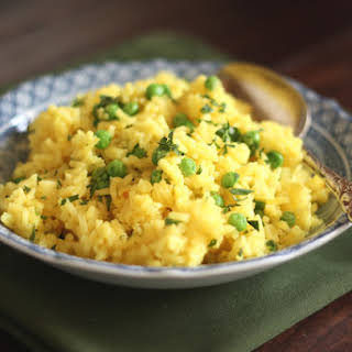 Turmeric Butter Rice.