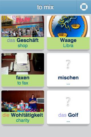 learn german 3400 words screenshot - Fantastisch Garageneinfahrt Am Hangil