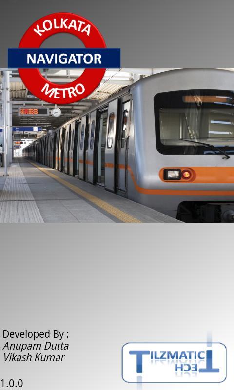 Kolkata Metro Navigator - screenshot