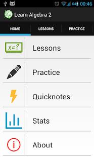 Learn Algebra 2