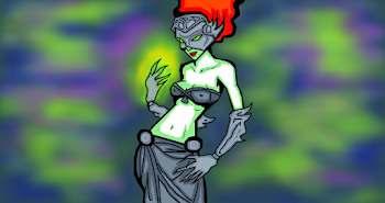 Undead Alien Sorceress