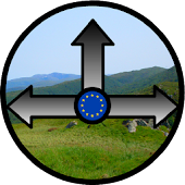 European Hiking Compass