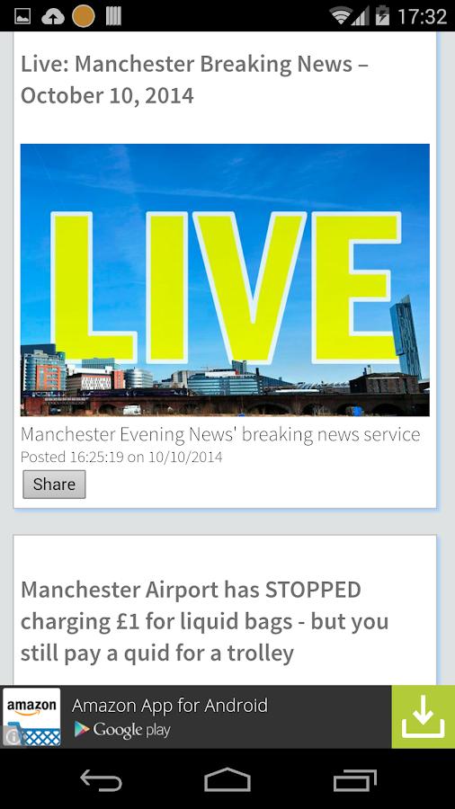 Manchester Local News- screenshot