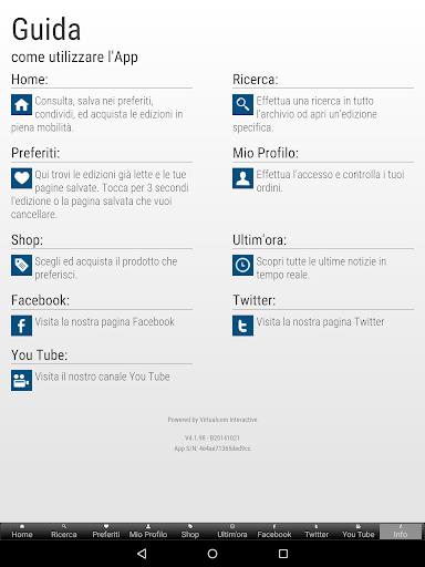 La Sicilia Edicola Digitale 4.8.030 screenshots 8