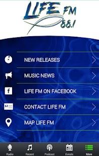 LIFE-FM 88.1 KLFC - screenshot thumbnail