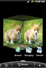 3D Cute Lovely Dog
