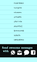 Screenshot of Cool Fonts for Whatsapp & SMS