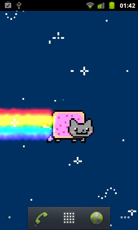 Nyan Cat Moving Animation Moving Nyan Cat