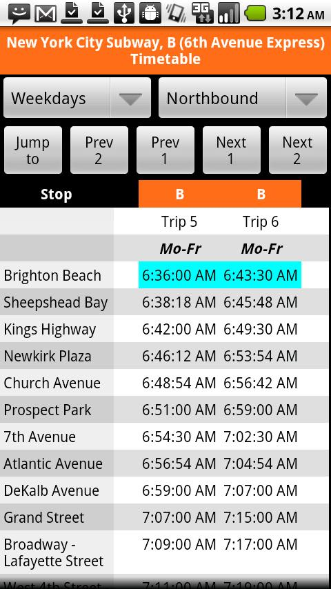 Sched NYC- screenshot