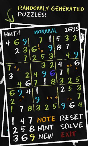 Sudoku Chalk FREE