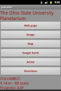 placeSet - screenshot thumbnail