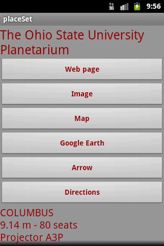 placeSet - screenshot
