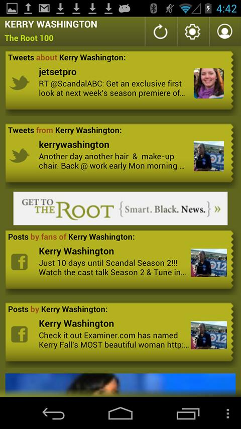 Kerry Washington: The Root 100 - screenshot