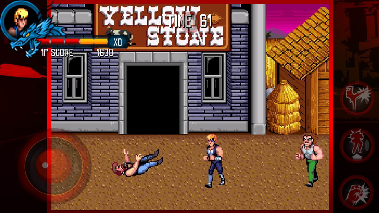 Double Dragon Trilogy- screenshot