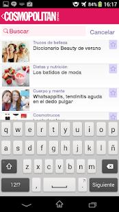 Cosmopolitan España App.- screenshot thumbnail