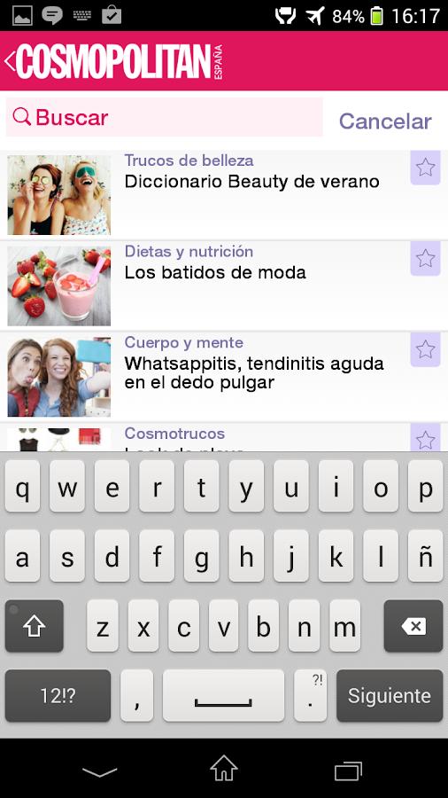 Cosmopolitan España App. - screenshot