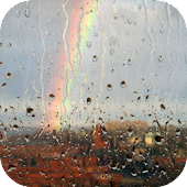 Rain On Window Live Wallpaper