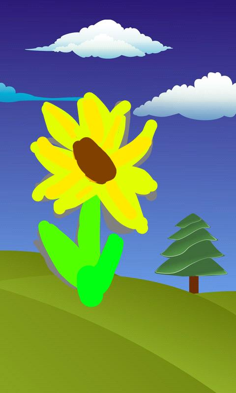 kids finger paint screenshot
