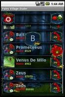 Screenshot of Fairy Village Dialer