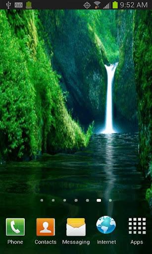 AMAZING WATERFALL LWP FREE
