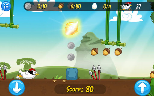 Игра Ninja Chicken Adventure Island для планшетов на Android