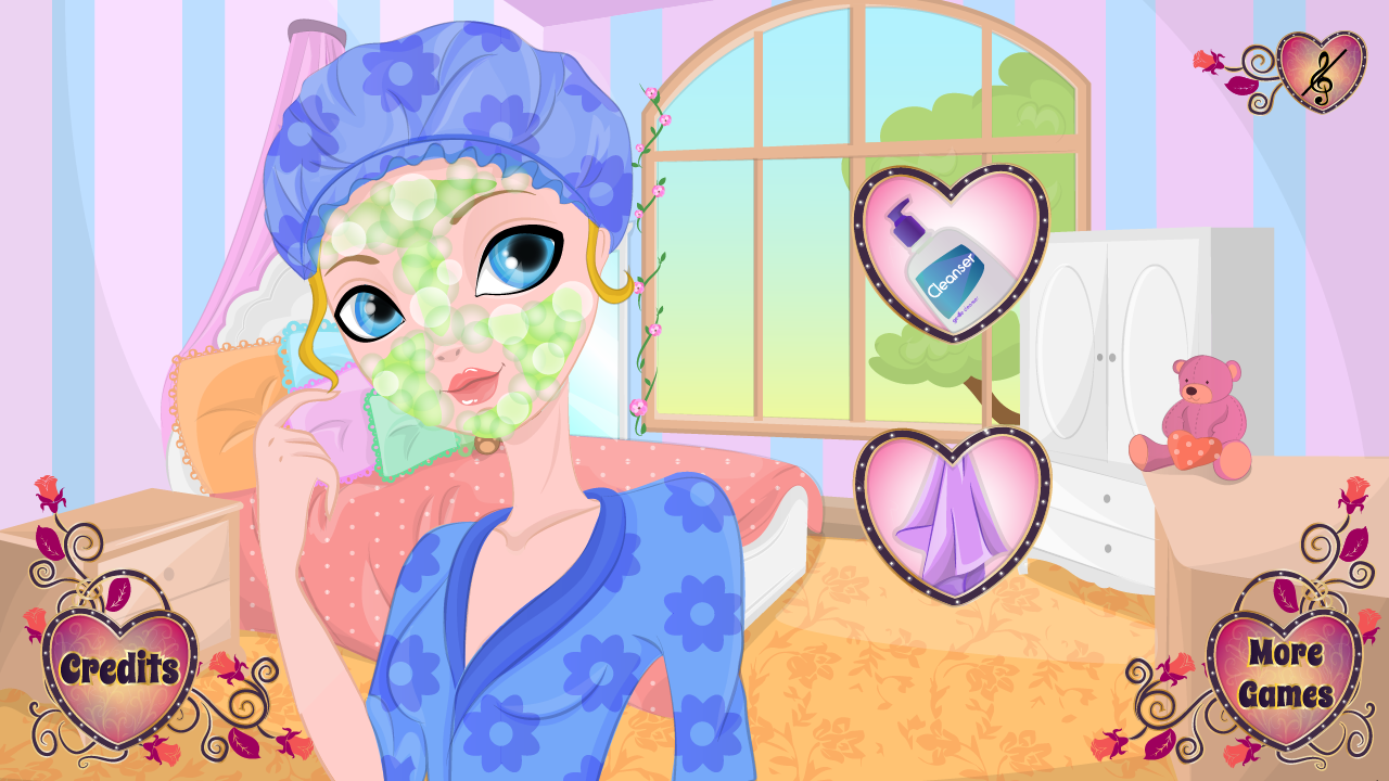 Blondie Lockes Makeover - screenshot