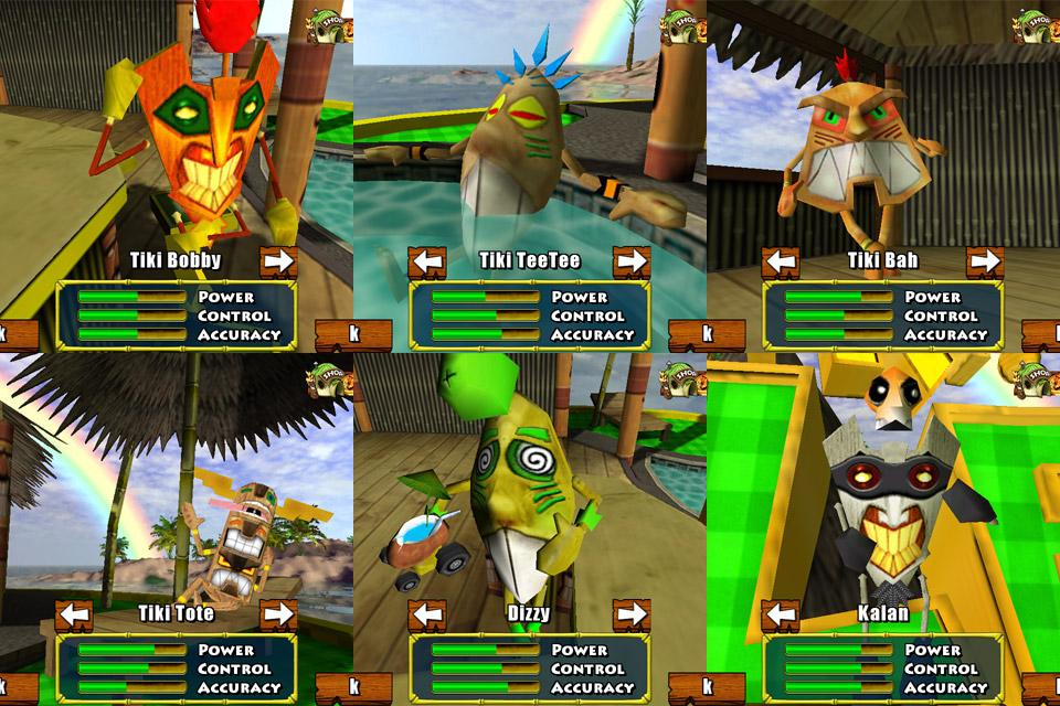 Tiki Golf Adventure Island- screenshot