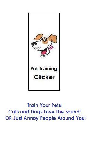 Pet Training Clicker- screenshot