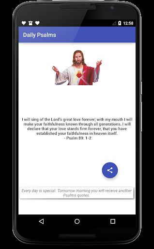 Psalms Daily Verses Uplifting