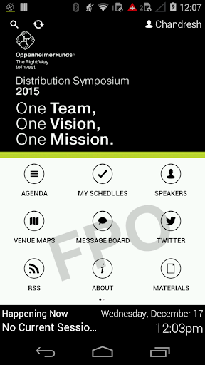 Distribution Symposium 2015