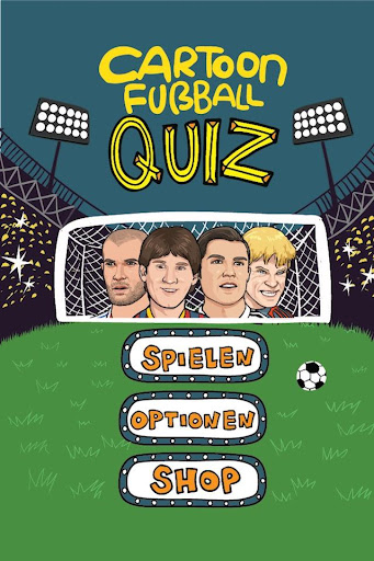 Cartoon Fußball Quiz