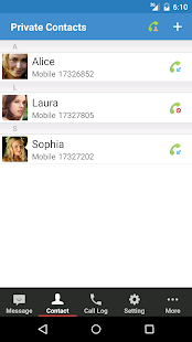 Private SMS & Call - Hide Text Screenshot