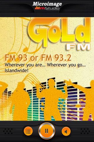 Gold FM Mobile - screenshot