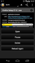 Loader Droid download manager Screenshot 4