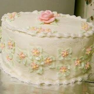Wedding Cake Icing.