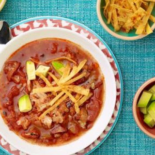Grilled Chicken Tortilla Soup With Tequila Crema