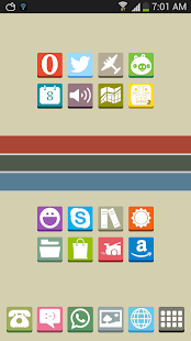 FlatBox - Icon Pack Screenshot