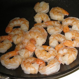 Simple Salt and Pepper Shrimp.