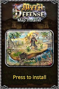 MD map: Islands