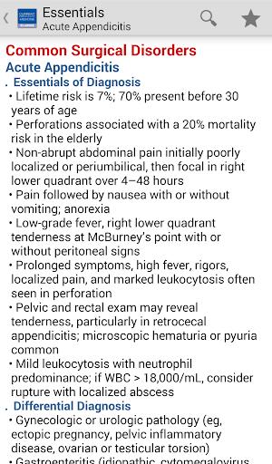 Current Essentials Medicine